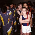 Arthur com 7 anos - Competiçã no Sesi Santo Andre