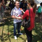 Entrevista no Evento Rexona Faça Mais