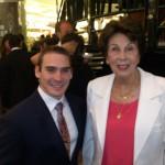 Prêmio Brasil Olímpico 2013 com Maria Esther Bueno
