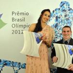 Prêmio Brasil Olímpico 2012 com Sheila