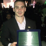 Prêmio Empresa Amiga do Esporte 2013 Arthur recebe placa de Furnas
