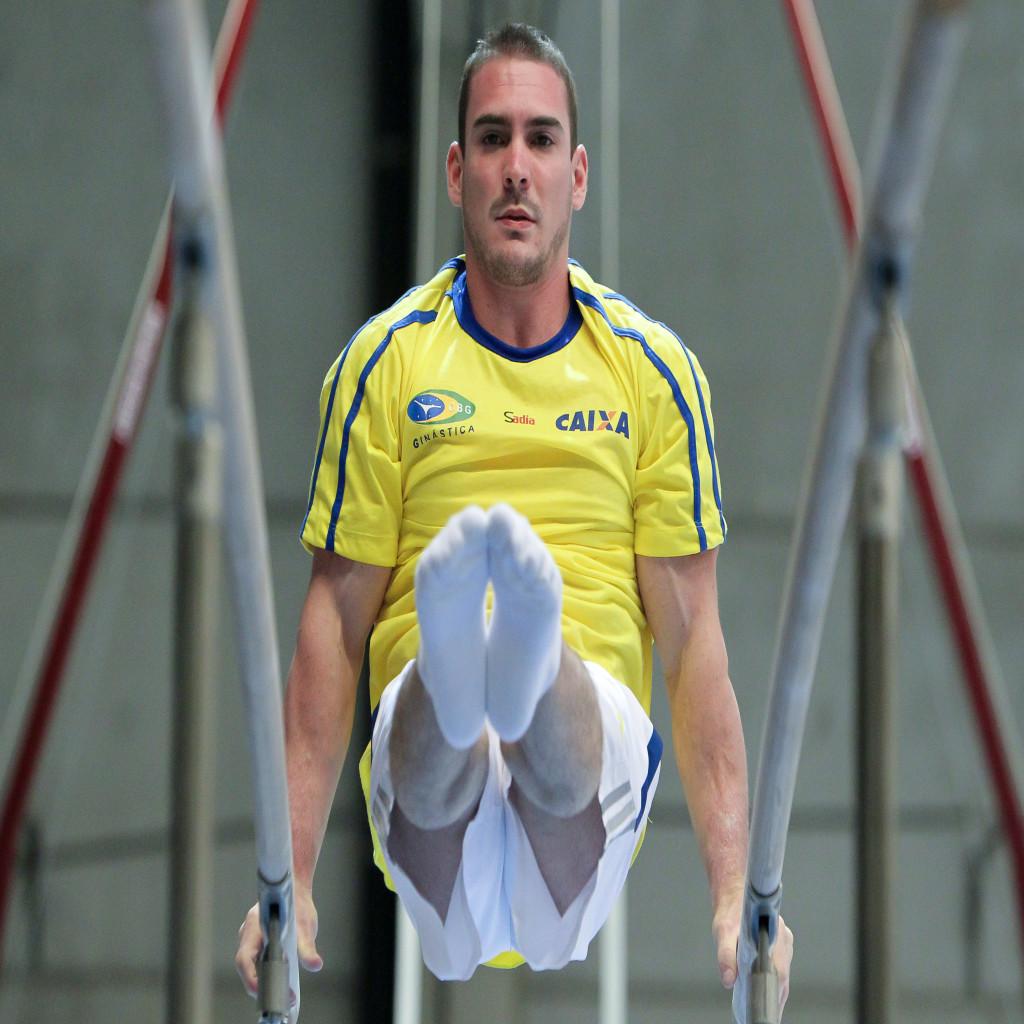 Arthur vai ser o porta-bandeira do Brasil nos Jogos